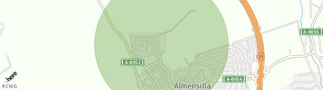 Mapa Almensilla