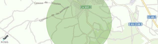 Mapa Bonares