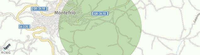 Mapa Montefrío