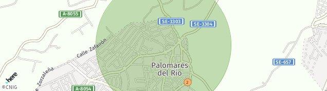 Mapa Palomares del Río