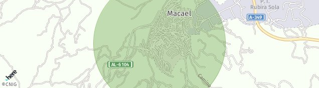 Mapa Macael