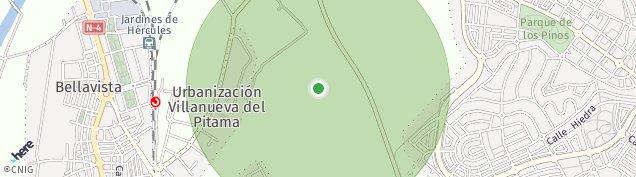 Mapa Fuente del Rey
