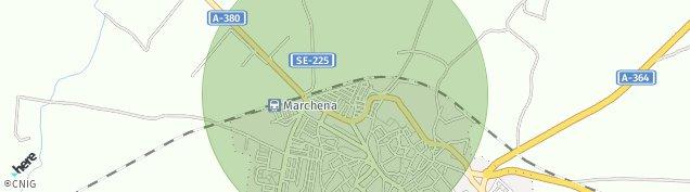 Mapa Marchena