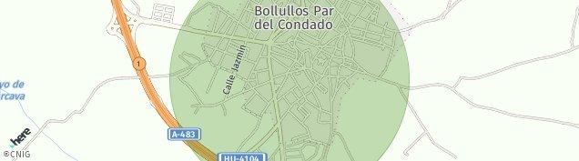 Mapa Bollullos Par del Condado