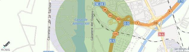 Mapa Sevilla