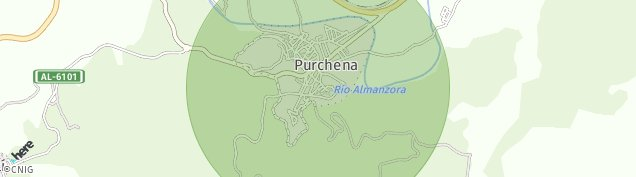 Mapa Purchena