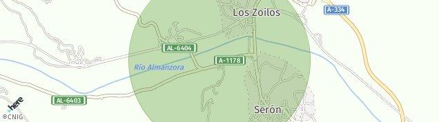 Mapa Serón