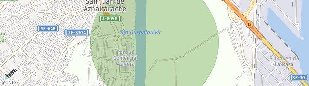 Mapa San Juan de Aznalfarache