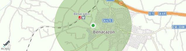 Mapa Benacazón