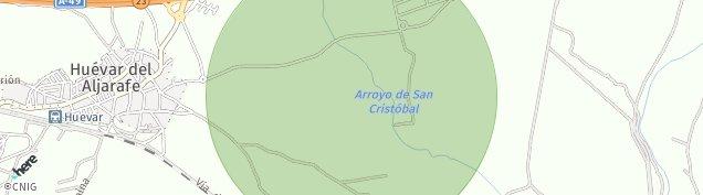 Mapa Huévar del Aljarafe