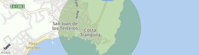 Mapa San Juan de Los Terreros