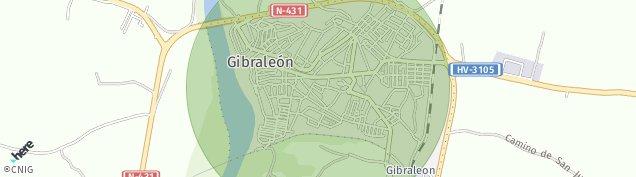 Mapa Gibraleón