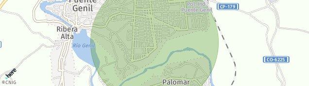 Mapa Puente Genil