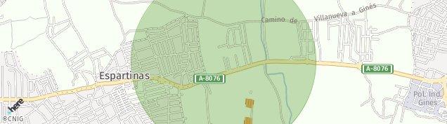 Mapa Espartinas