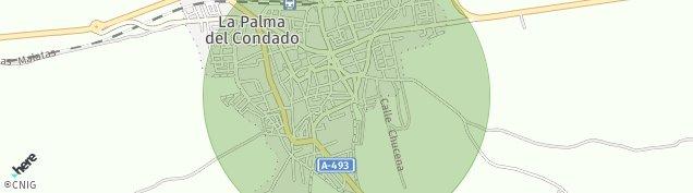 Mapa La Palma del Condado