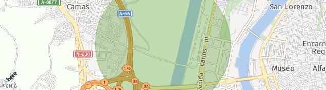 Mapa Camas
