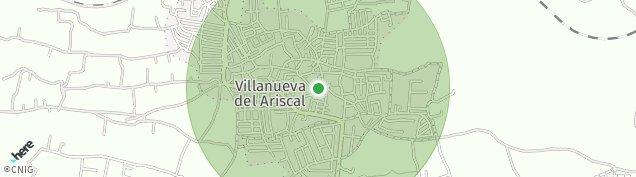 Mapa Villanueva del Ariscal