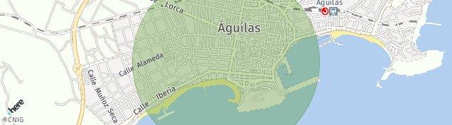 Mapa Águilas