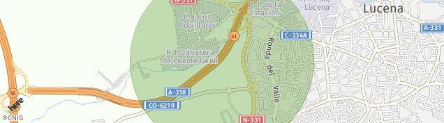 Mapa Lucena