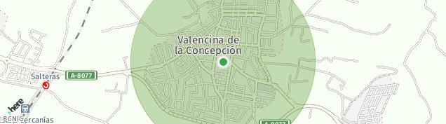 Mapa Valencina de la Concepción