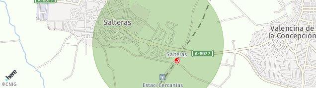 Mapa Salteras