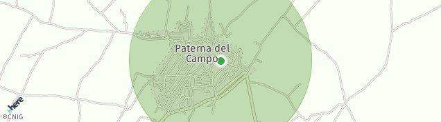 Mapa Paterna del Campo
