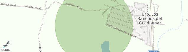 Mapa Sanlúcar la Mayor