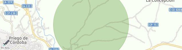 Mapa Priego de Córdoba