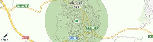 Mapa Alcalá la Real
