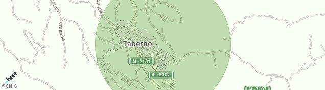 Mapa Taberno