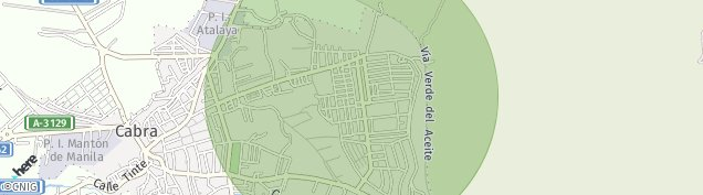 Mapa Cabra