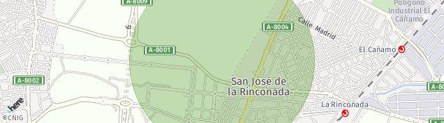 Mapa San Jose de La Rinconada