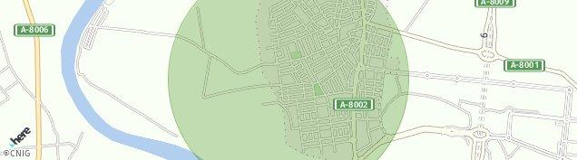 Mapa La Rinconada