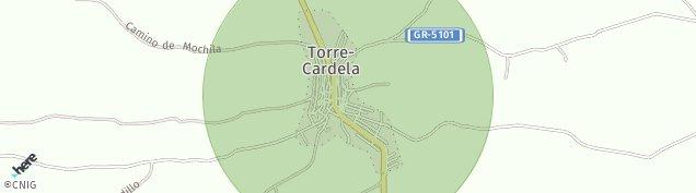 Mapa Torre-Cardela