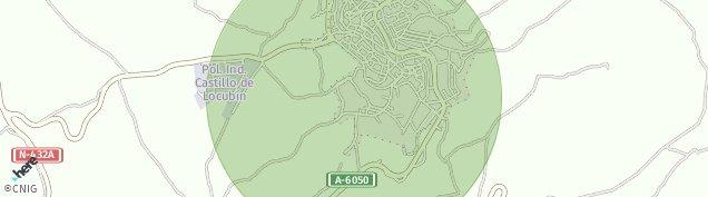 Mapa Castillo de Locubín