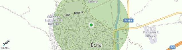 Mapa Écija