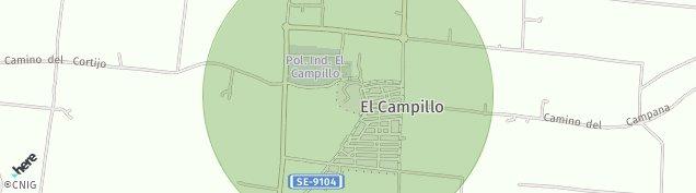 Mapa El Campillo de Sevilla