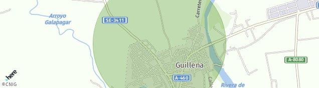 Mapa Guillena