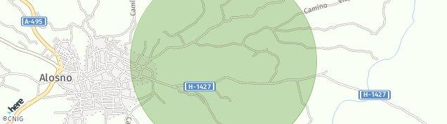 Mapa Alosno