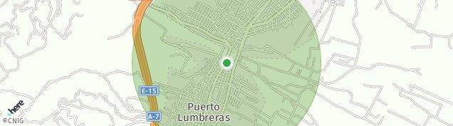 Mapa Puerto Lumbreras