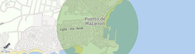 Mapa Puerto de Mazarron