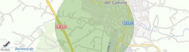 Mapa Valverde del Camino
