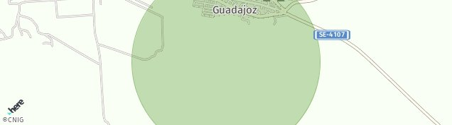Mapa Guadajoz