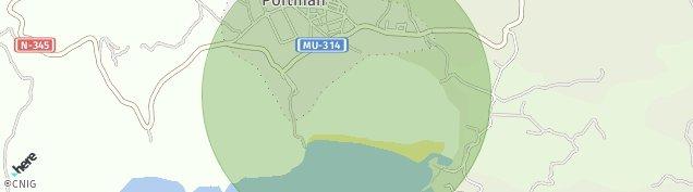 Mapa Portman