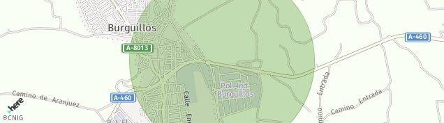 Mapa Burguillos