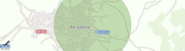 Mapa Alcaudete
