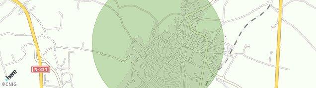 Mapa Montilla