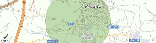Mapa Mazarrón