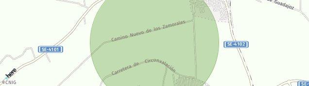Mapa Los Rosales