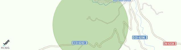 Mapa Baena
